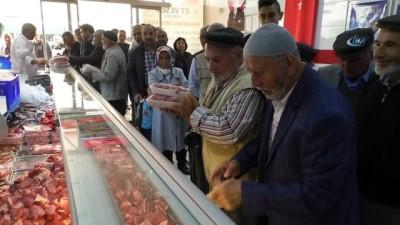 Yozgat'ta Ramazan öncesi ucuz et kuyruğu