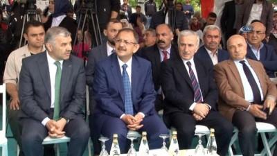"""Bakan Özhaseki: """"Kaçak yapı yapana hapis cezası geliyor"""""""