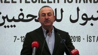 Dışişleri Bakanı Çavuşoğlu: 'Filistin davasını hiçkimse savunmasa, Kudüs davası konusunda herkes sussa bile Türkiye susmaz' - İSTANBUL