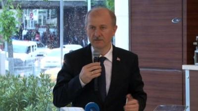 Fatih Belediye Başkanı Hasan Suver, muhtarlarla bir araya geldi