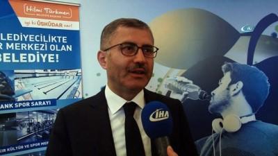 Hilmi Türkmen: 'Üsküdar'da spora olan önem konusunda aşama kaydettik'