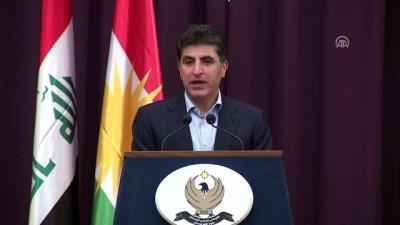 IKBY Başbakanı Neçirvan Barzani basın toplantısı (2) - ERBİL