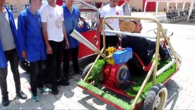Lise öğrencileri hurda parçalardan arazi aracı yaptı - OSMANİYE