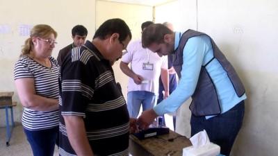 Milletvekili genel seçimleri için oy verme işlemi sürüyor - ERBİL