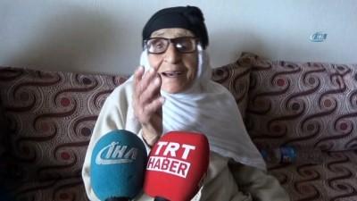 110 yaşındaki nine 'Anneler Günü'nü kutladı