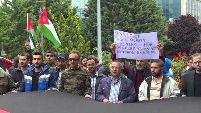 Başkentte 'Büyük Dönüş' yürüyüşüne destek - ANKARA