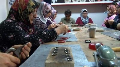 Kadın telkari ustaları kuyumculara taş çıkartıyor