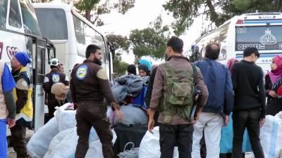 rejim - Suriye'de rejim ablukasından zorunlu tahliyeler sürüyor - İDLİB