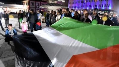 ABD'nin Tel Aviv Büyükelçiliğini Kudüs'e taşımasına tepki - MALATYA