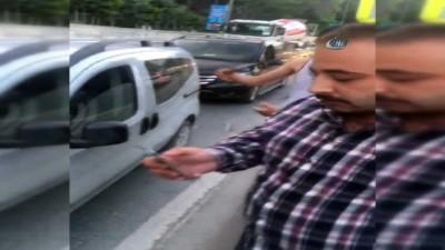 Alkollü Uber sürücüsü kazaya karıştı