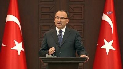 """Başbakan Yardımcısı Bozdağ: """"Bugün tarihe kanlı Pazartesi olarak geçecektir"""""""