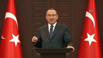 """Başbakan Yardımcısı Bozdağ: """"Hükümetimizin gündeminde af söz konusu değil"""""""