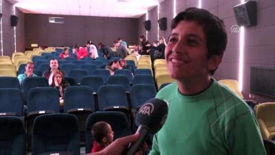 Engelli öğrenciler ilk kez sinemayla buluştu - KIRKLARELİ