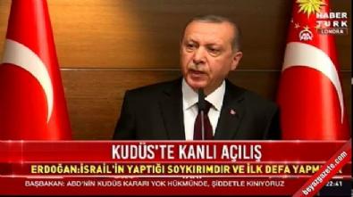 Erdoğan: 3 günlük yas ilan ettiler