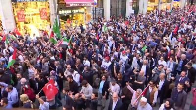 'İşgale Karşı Ses Ver' eylemi  - detaylar -  İSTANBUL