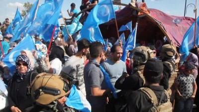 - Kerkük'te Türkmenlerin seçim protestoları devam ediyor