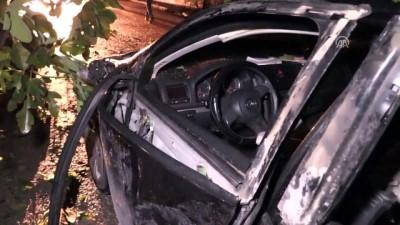 Otomobilde çakmak gazı tüpleri patladı - ELAZIĞ