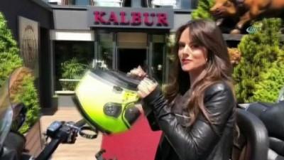 Ünlü Hollywood yıldızı Sarah Butler İstanbul'da kaza geçirdi... O anlar kamerada