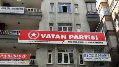 Vatan Partisi'nin Diyarbakır, Batman ve Kızıltepe teşkilatları istifa etti