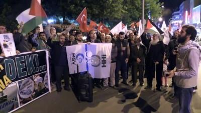 ABD'nin Tel Aviv Büyükelçiliğini Kudüs'e taşımasına tepki - NEVŞEHİR