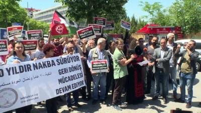 Başkentte İsrail'i protesto - ANKARA