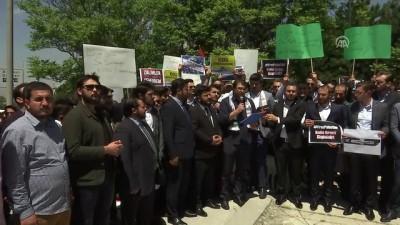 grup genc - Başkentte İsrail protestosu - ANKARA