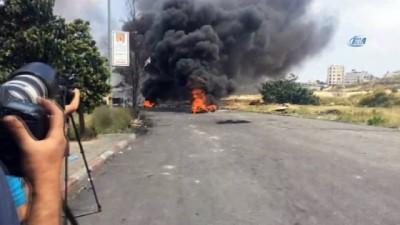 ses bombasi -  - Batı Şeria'da Nekbe Günü'nde gösteri ve çatışmalar yeniden başladı