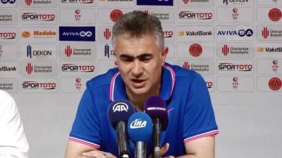 Büyükşehir Belediye Erzurumspor-Ümraniyespor maçının ardından - Altıparmak ve Bektaş - İSTANBUL