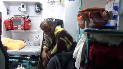 Çanakkale'de kaçakları yaşıyan tekne battı (3)
