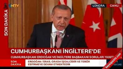 Cumhurbaşkanı Erdoğan'dan o soruya tepki