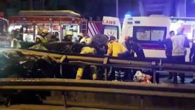 E-5'te trafik kazası: 1 yaralı
