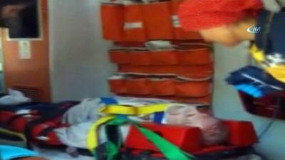 Emniyet kemeri hayatını kurtardı: 1 yaralı