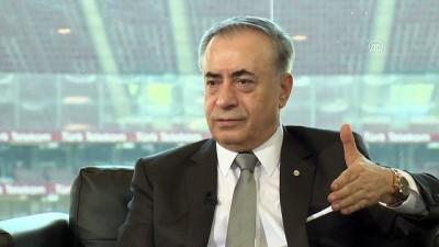 Galatasaray Kulübü Başkanı Mustafa Cengiz AA Spor Masası'nda (4) - Başarıyı getiren Terim'dir - İSTANBUL