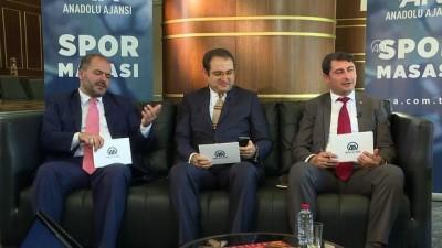 Galatasaray Kulübü Başkanı Mustafa Cengiz AA Spor Masası'nda (5) - Seyirci ortalamamız yükseldi - İSTANBUL