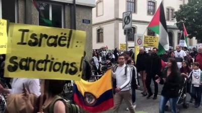 İsrail'in Gazze'de yaptığı katliama tepkiler - CENEVRE