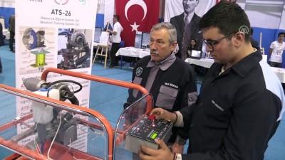 Lise öğrencisinden 6 farklı yakıtla çalışan turbojet motor - ESKİŞEHİR
