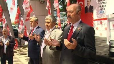MHP aday adayı Erkoç: 'Türkiye üzerinde oynanan oyunlar bitmiyor'