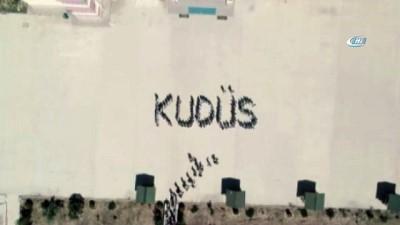 Öğrencilerden 'Kudüs' mesajı