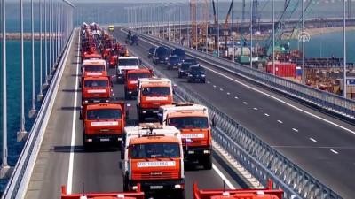 rejim - Rusya ile Kırım yarımadası arasında inşa edilen 19 kilometrelik köprü açıldı - KIRIM