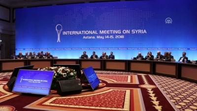 Suriye konulu 9. Astana toplantısı sona erdi - ASTANA