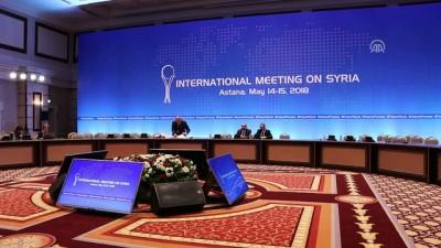 Suriye konulu 9. Astana toplantısının ardından - ASTANA