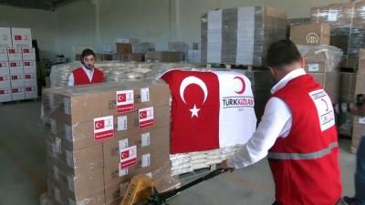 yardim kampanyasi - Türk Kızılayının yardımları sevkiyata hazır - ANKARA
