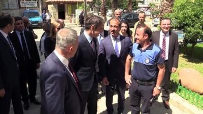Yunan parti lideri Mitsotakis'ten Gökçeada'ya ziyaret - ÇANAKKALE