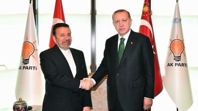 Cumhurbaşkanı Erdoğan, İran Cumhurbaşkanı Özel Temsilcisini kabul etti