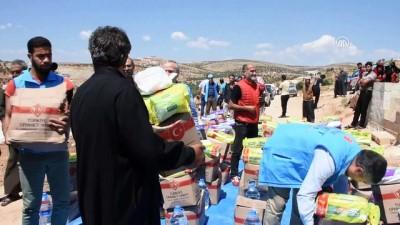 Diyanet Vakfından Suriye'ye ramazan yardımı - İDLİB