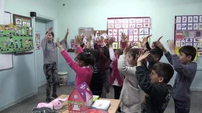 Fatma öğretmen sokak hayvanları için yollarda (2) - BİTLİS