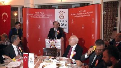 Galatasaray Başkanı Cengiz başkentte iftarda - ANKARA