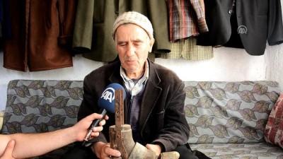 Gazi babasının 100 yıllık protez ayağını bavulda saklıyor - ANTALYA
