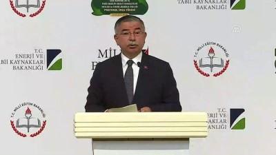 Milli Eğitim Bakanı Yılmaz: ' Hibe almaya hak kazanan 526 projenin 475'i meslek liselerimiz tarafından hazırlandı' - ANKARA