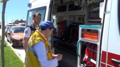 Otizmli İkbal'in ambulansla gezme hayali gerçek oldu